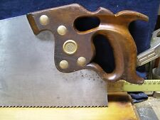 DISSTON D8 RIP HAND SAW 5 tpi 26 in THUMBHOLE FRESHLY HAND SHARPENED