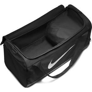 84cf900d69 Nike Brasilia Training Gym Duffel Bag Black Large Sports Backpack ...
