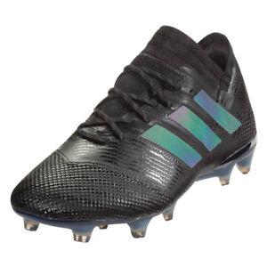 adidas-Men-039-s-Nemeziz-17-1-FG-Core-Black-Hi-Res-Green-CP8934