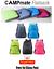 Backpack-Rucksack-20L-Small-Waterproof-Bag-Men-Women-Kids-Camping-Walking-Hiking miniatuur 1