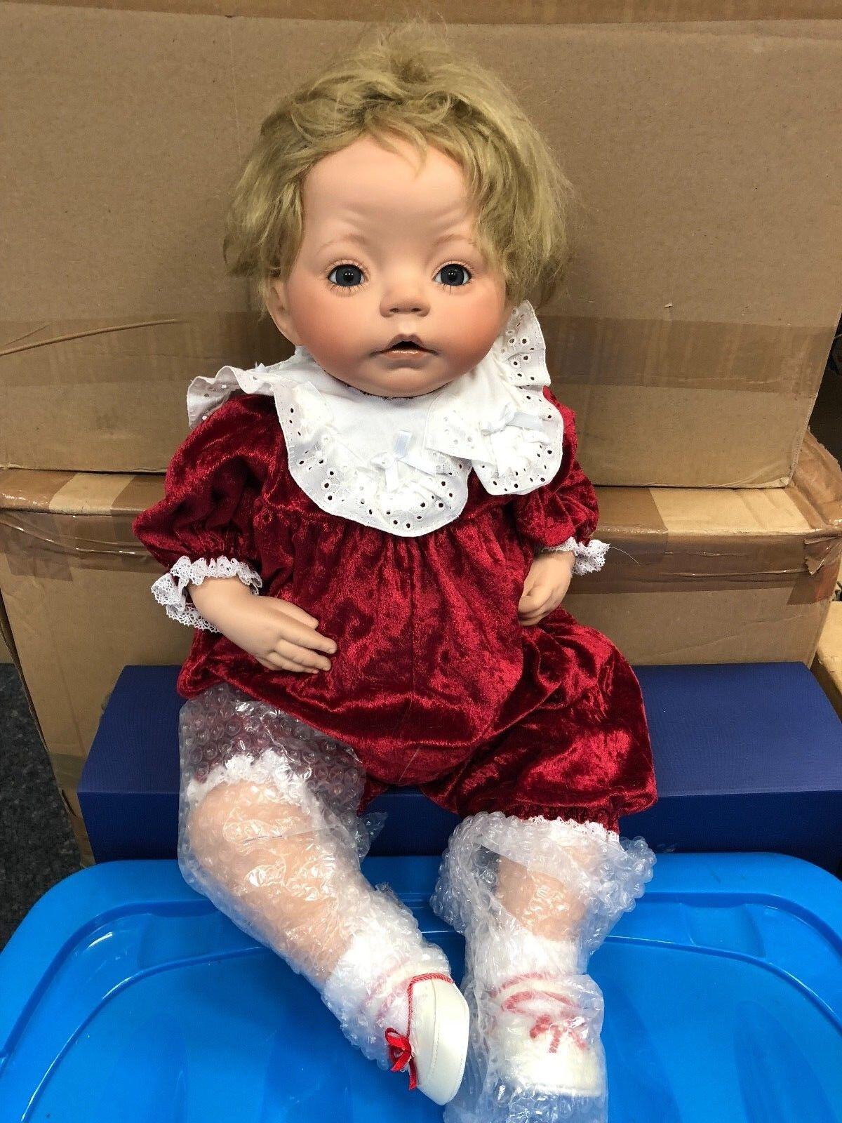 Dianna Effner ⭐⭐ bambola di porcellana 62 cm. ⭐⭐ ottimo stato