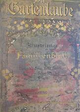 DIE GARTENLAUBE 1905  Complete Year  German Illustrated Family Magazine Bound