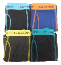 68b00852b33a Calvin Klein Boys Multi 4pk Solid Cotton Stretch Boxer Briefs Set L ...