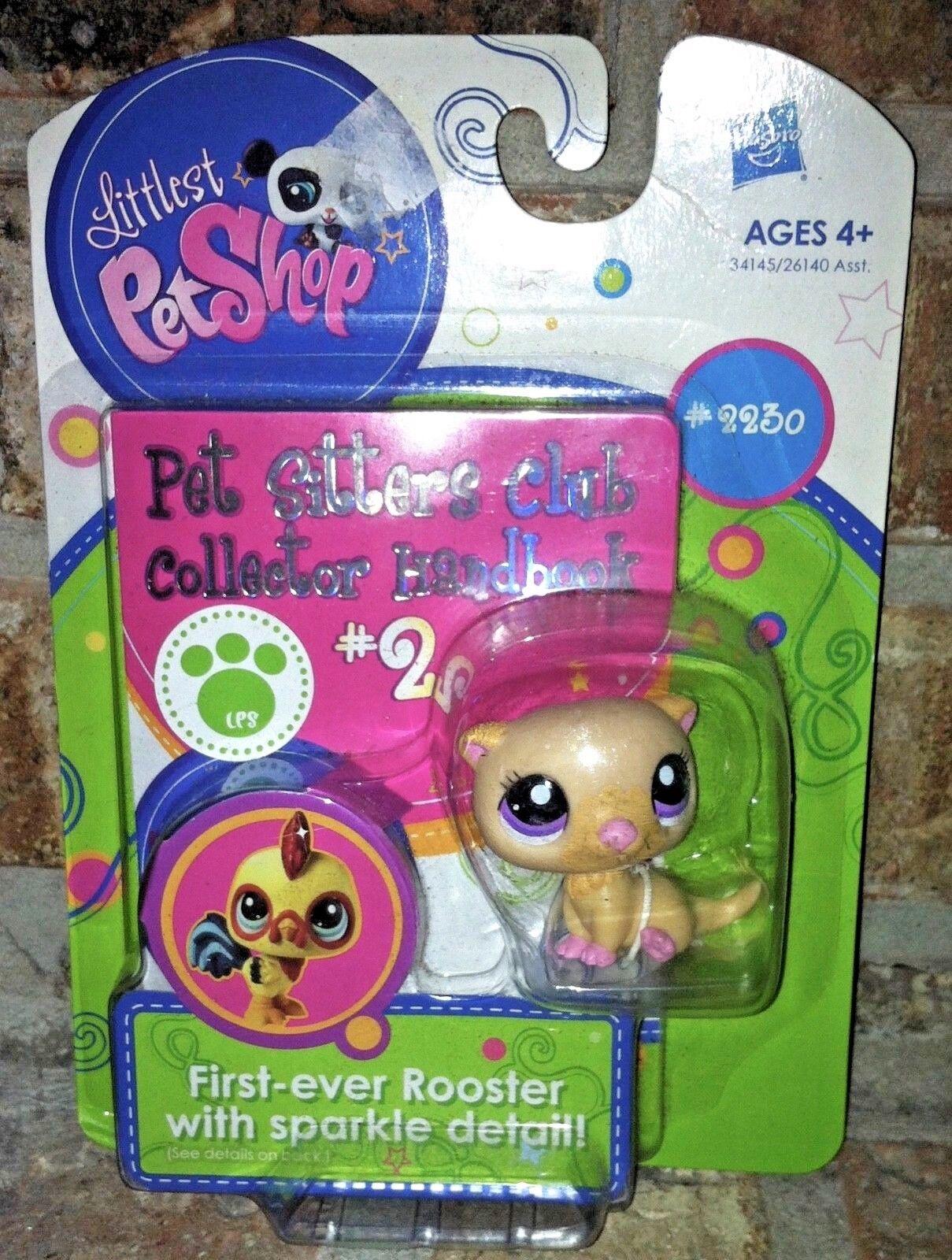 Littlest Pet Shop tan SEA SEA SEA OTTER pet sitters club collectors handbook 2230 RARE f552bd