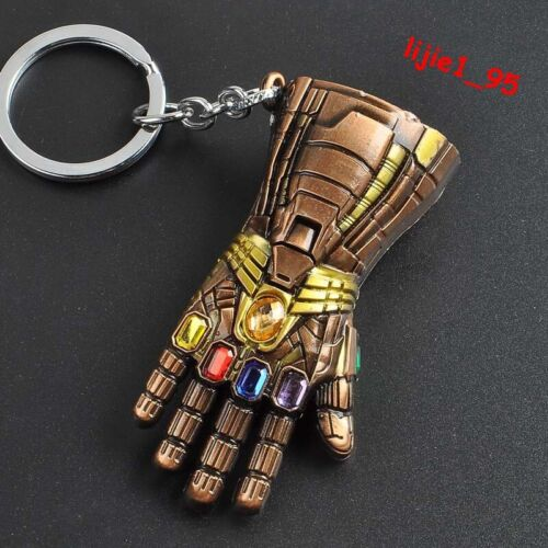 Marvel Avengers Endgame Hulk Infinity Gauntlet Alloy Key Chains Keychain Keyring