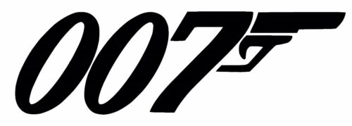 007 Medium vinyl car Decal Sticker