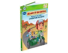 Leap Frog Tag Book - Disney - Manny et ses outils - L'aventure en moto  FRENCH