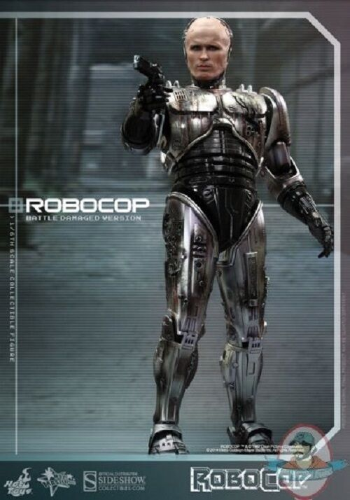 1 6 RoboCop Battle Damaged Version Version & Alex Murphy Hot Toys