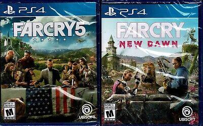 Far Cry New Dawn Far Cry 5 Ps4 Both New Ebay