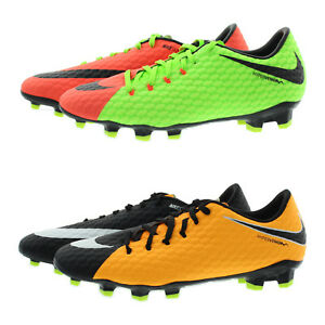 newest 67b40 b3360 Details about Nike 852556 Mens Hypervenom Phelon III Firm Ground Soccer  Cleats Boots