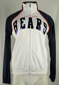 Chicago Bears NFL Team Apparel Women's Full-Zip Track Jacket
