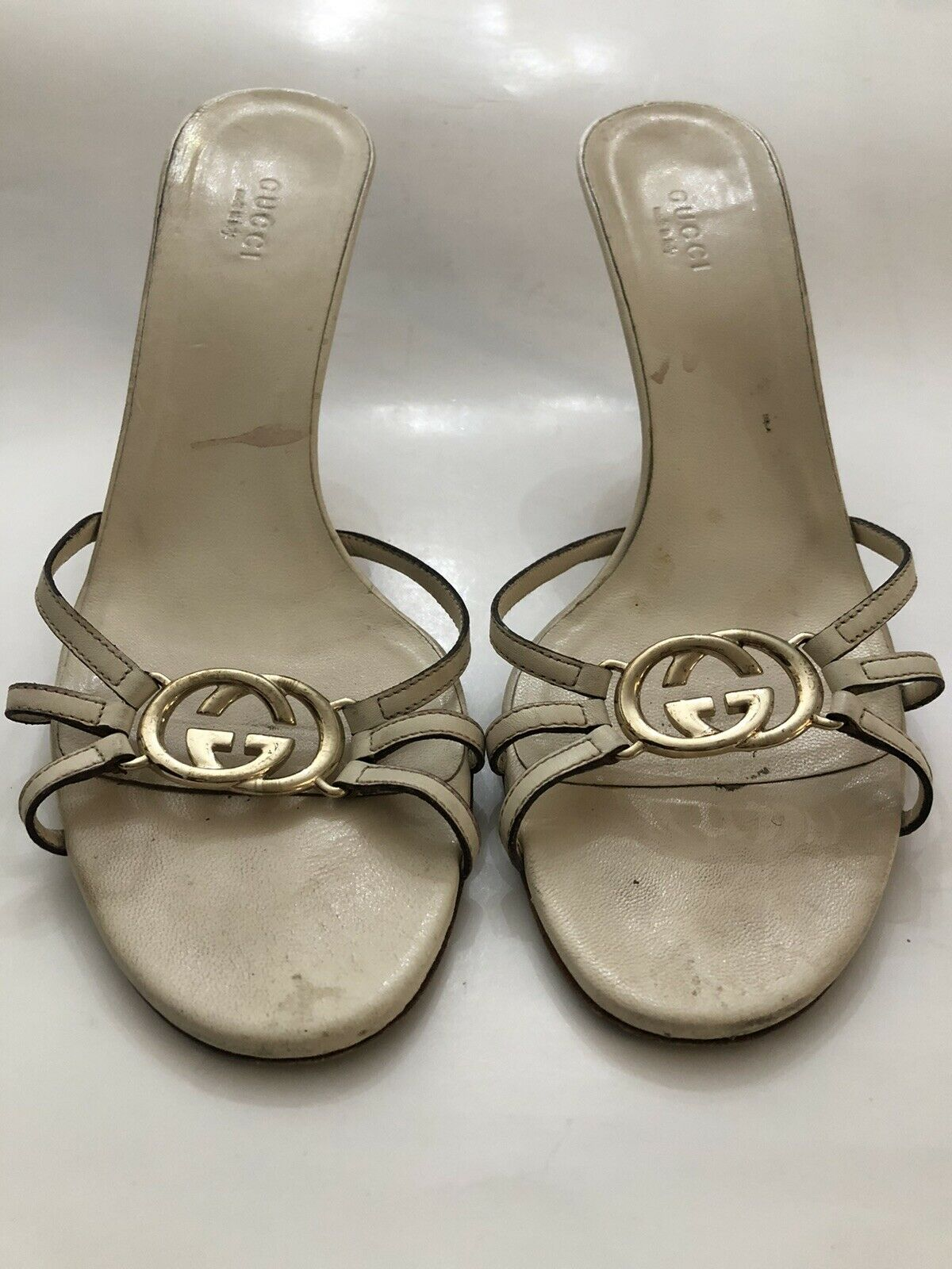 Gucci Off White Women Shoe 8B  - image 2