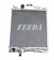 Aluminum Radiator For Suzuki Swift Gti 1989-1994 Mt 1990 1991 1992 1993
