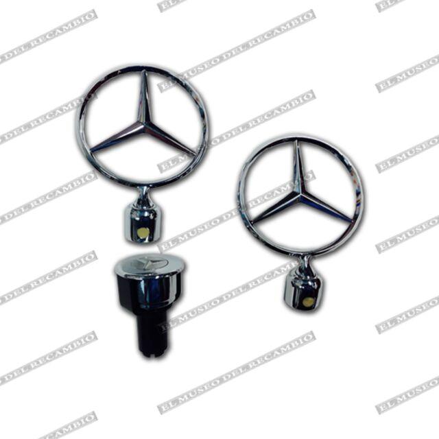Estrella antirrobo Mercedes W 201-123-124-126 (incluye estrella de recambio)
