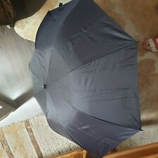 Maserati Regenschirm Quattroporte Logo schwarz automatik Umbrella