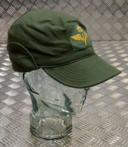 Original Schwedisch Militär Od M59 Combat//Ermüdung Baseball Kappe// Hut