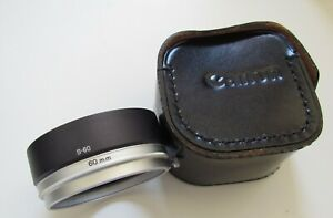Canon-S-60-60mm-Metal-Lens-Hood-with-Case-for-50mm-1-4-FL-Lens