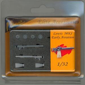 Details about GasPatch Models 1/32 BRITISH LEWIS GUN Mk I EARLY AVIATION  TYPE (2)