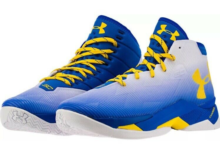 Under Armour Stephen Curry 2.5 73-9 Home Dub Nation 1274425-103 -Size14
