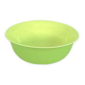 Middle Kingdom Porcelain Pasta Bowl – Apple Green / Yellow – Bo Jia – New