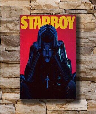 Post Malone Rockstar Hot Music Rapper New Album Cover 27x27 Fabric Poster E-415