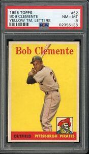 ROBERTO-CLEMENTE-1958-TOPPS-CARD-52-PSA-8-YELLLOW-LETTER