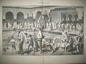 ETS-DE-BAINS-FROIDS-DE-LA-SEINE-A-PARIS-ESPAGNE-GRENADE-CARLISTES-GRAVURES-1873