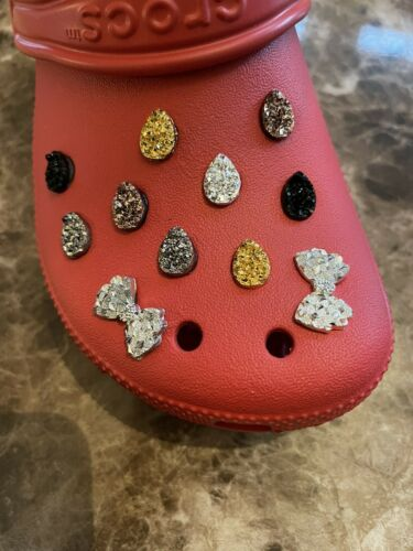 4 crocs inspired charms GEMS Pick Any 4