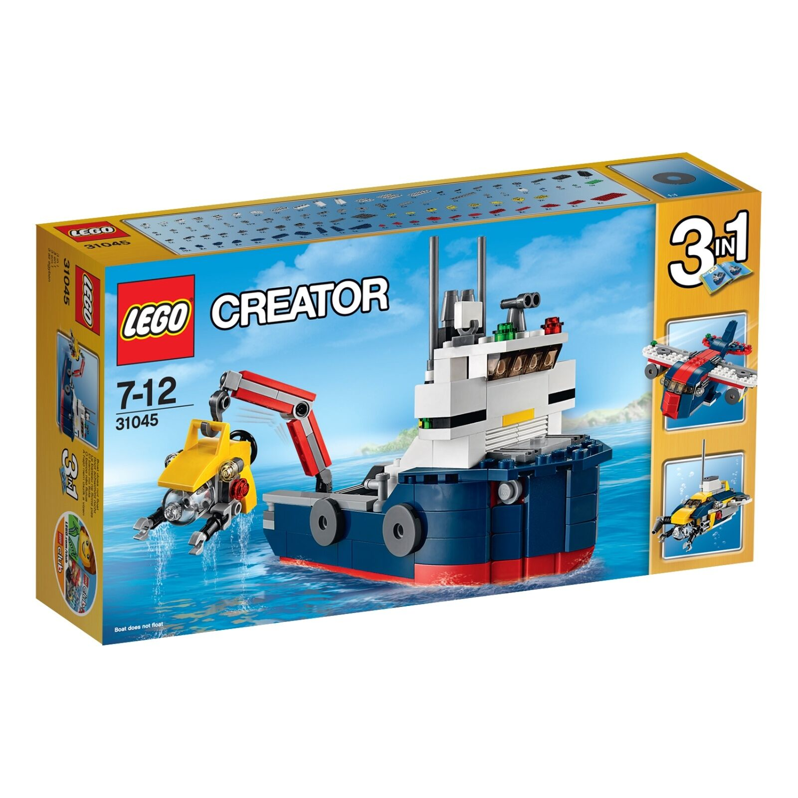 LEGO® Creator 31045 Erforscher der Meere NEU OVP_ Ocean Explorer NEW MISB NRFB