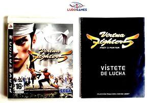 Virtua-Fighter-5-Press-Kit-Jeu-de-PS3-Mint-State-Presse-Unpublished-T-Shirt