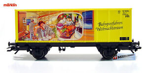 Marklin-94152-Container-Car-Post-Museums-Frohe-Weihnachten-2002-Christmas