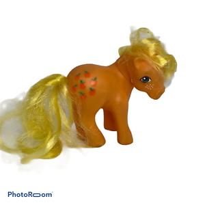 Vintage-1983-G1-My-Little-Pony-Apple-Jack-Earth-Ponies-Applejack-1980-039-s-MPL