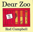 Dear Zoo: Lift the Flaps by Rod Campbell (Hardback, 1997)