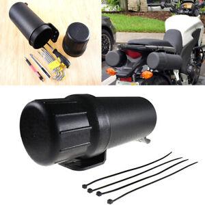 Universal-Motorcycle-ATV-Tool-Tube-Storage-Box-Accessories-Waterproof-Portable