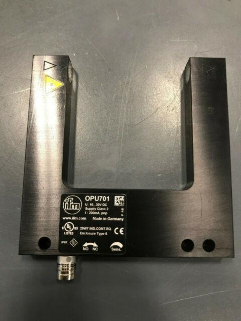 IFM OPU203 Photoelectric Fork Sensor