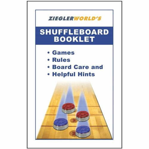 BOARD WIPE SWEEP RULE BOOK 2 CANS FAST SPEED TABLE SHUFFLEBOARD POWDER WAX