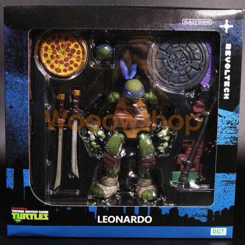 "Teenage Mutant Ninja Turtles TMNT 6/"" Action Figure 1:12 Kaiyodo Revoltech New"