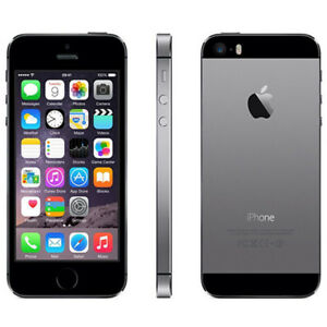 Apple-iPhone-5S-Samrtphone-32GB-Space-Grau-Ohne-Simlock-TOUCH-ID-TOP-ZUSTAND