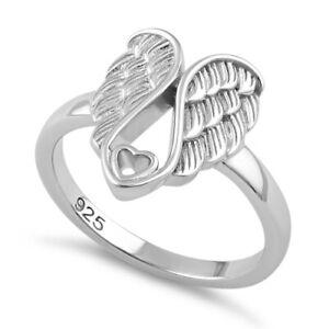 bague argent ailes