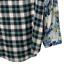 thumbnail 9 - New Anthropologie Cyrena S Tunic Top Blouse Shirt Floral Plaid Blue White Hi Low