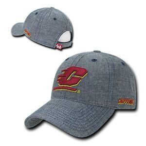 CMU-Central-Michigan-University-Chippewas-NCAA-Structured-Cotton-Baseball-Hat