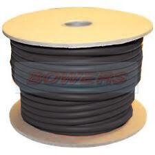 BLACK 10M METRE HI-FLEX PVC BATTERY/STARTER CABLE 40MM 300 AMP 539/0.3 STRANDING