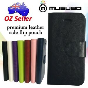 Genuine-Musubo-Leather-cover-case-wallet-with-card-pouches-For-various-models