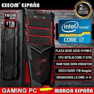 ORDENADOR-NUEVO-PC-GAMING-INTEL-CORE-i7-6700-6-GEN-16GB-DDR4-1TB-HDMI