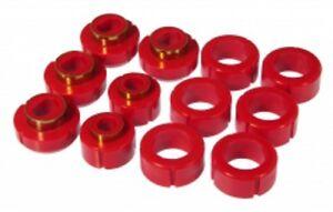 Prothane-82-04-Chevy-GMC-S10-Standard-Cab-Body-Mount-Bushings-Kit-Red-Poly-7-115