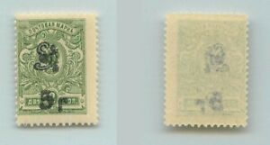 Armenia 🇦🇲  1920  SC 133a mint Type F or G black . f7193