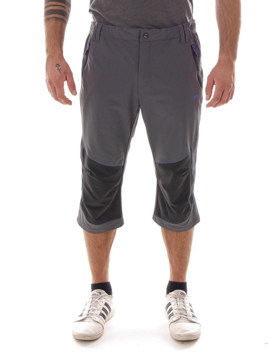 CMP Shorts kurze Hose MAN CAPRI grau wasserabweisend atmungsaktiv