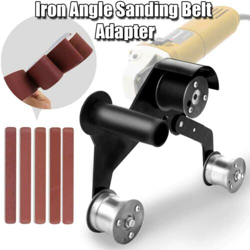 Multifunctional Iron Angle Sanding Belt Adapter Accessories for Grinder Machine