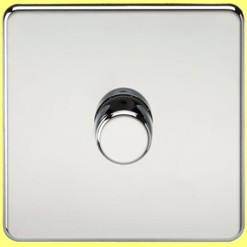 Sans Vis Chrome Poli 13A Sockets les commutateurs etc gamme complète inserts noir
