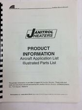 Janitrol Heaters Product Information  Application List Illustrated Parts List